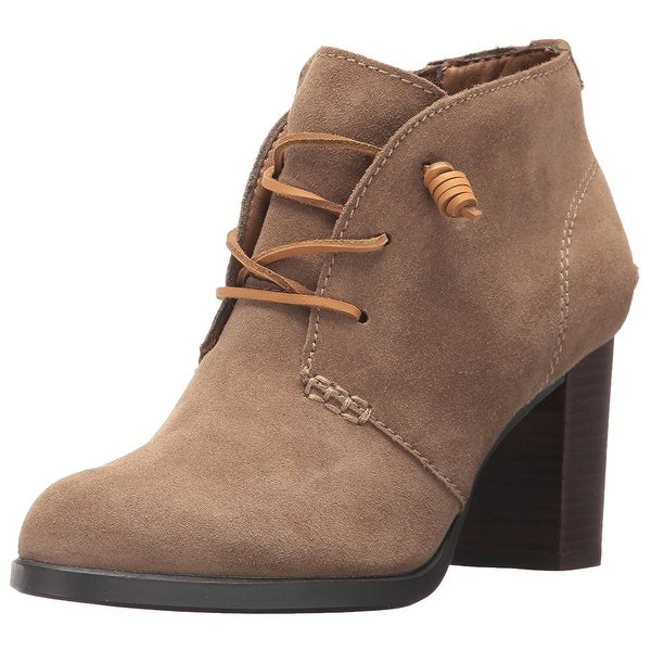Sperry Womens dasher gale Leather Almond Toe Ankle Fashion Boots