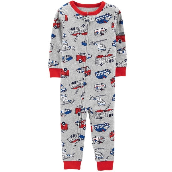 bd0273e03 Shop Carter s Baby Boys  1-Piece Hero Snug Fit Cotton Footless PJs ...
