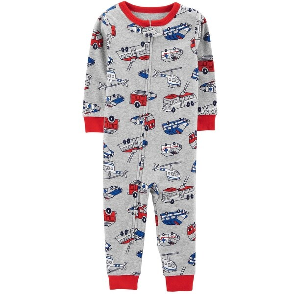 80f8d8122e52 Shop Carter s Little Boys  1-Piece Hero Snug Fit Cotton Footless PJs ...