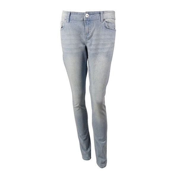INC International Concepts Women's Pinstripe Skinny Jeans