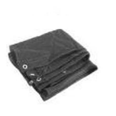 Mintcraft 2390B Heavy Duty Mesh Tarp 12'x16', Black