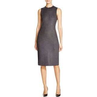 Theory Womens Formal Dress Woll A-Line