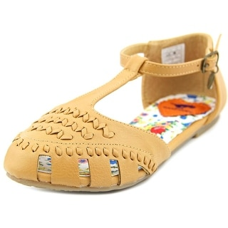 Rocket Dog Fion Youth Open Toe Synthetic Tan Gladiator Sandal