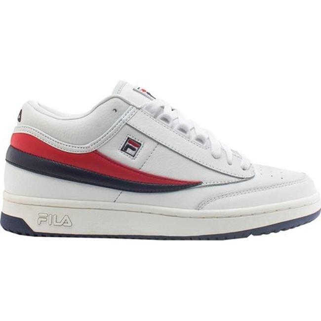 Fila Men's T1-Mid White/Fila Navy/Fila Red