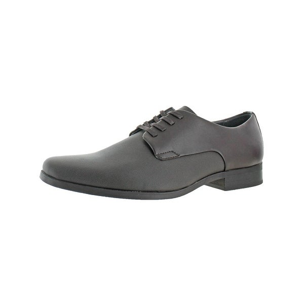 Calvin Klein Mens Jacob Oxfords Leather Derby