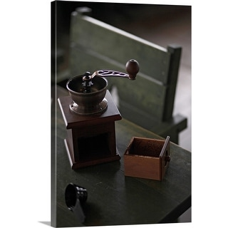 """Coffee mill"" Canvas Wall Art"