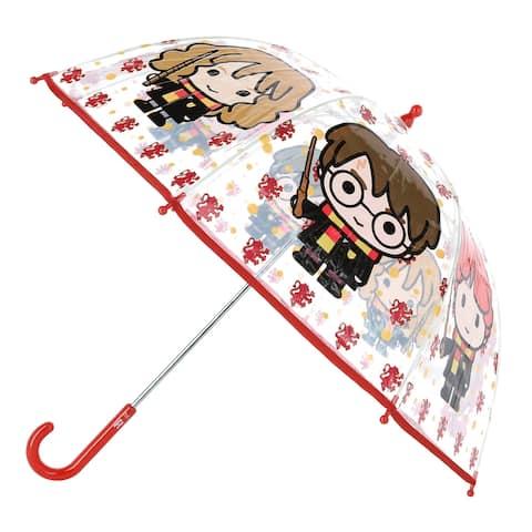 Textiel Trade Kid's Harry Potter Transparent Bubble Stick Umbrella - one size