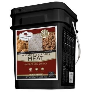 Wise foods wgf07-704 wise foods wgf07-704 protein bucket 104 servings  gluten free