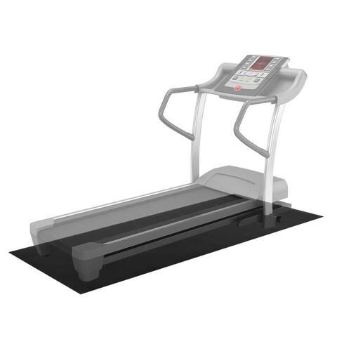 3' x 8' PVC Treadmill Mat, for Hardwood Floors, Carpet Protection