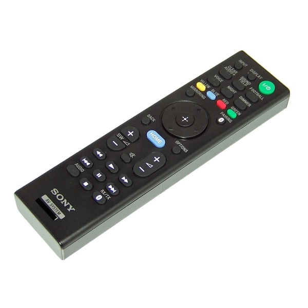 OEM NEW Sony Remote Control Originally Shipped With SA-WST9, SAWST9