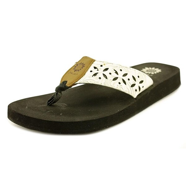 26fe50e585e857 Shop Yellow Box Damara Women Open Toe Synthetic White Thong Sandal ...