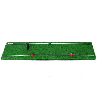 "Spornia Golf Practice Mat 30""x10"" - HEAVY WEIGHTED"