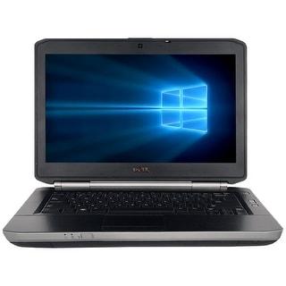 "Refurbished Laptop Dell Latitude E5420 14.0"" Intel Core i5-2520M 2.5GHz 4GB DDR3 250GB Windows 10 Pro 1 Year Warranty - Black"