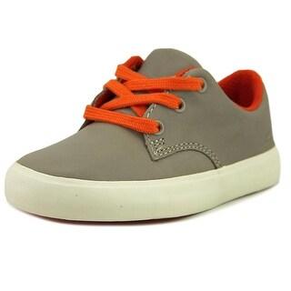 Clarks Club Samba Youth W Leather Gray Fashion Sneakers (Option: 11.5)