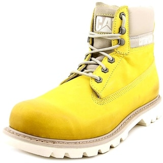 Caterpillar Colorado Brnsh Brt Steel Toe Leather Work Boot