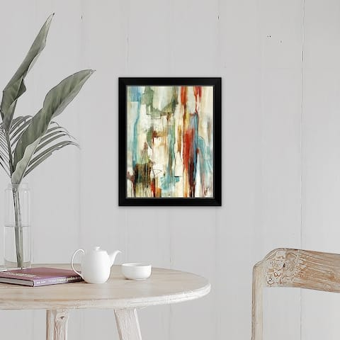 """Fragments I"" Black Framed Print"