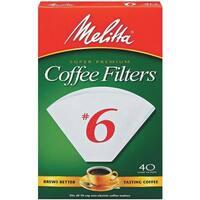 Melitta U S A Inc #6 Cone Coffee Filter 626402 Unit: EACH