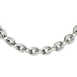 Stainless Steel Multiple Links 22in Necklace (14 mm) - 22 in