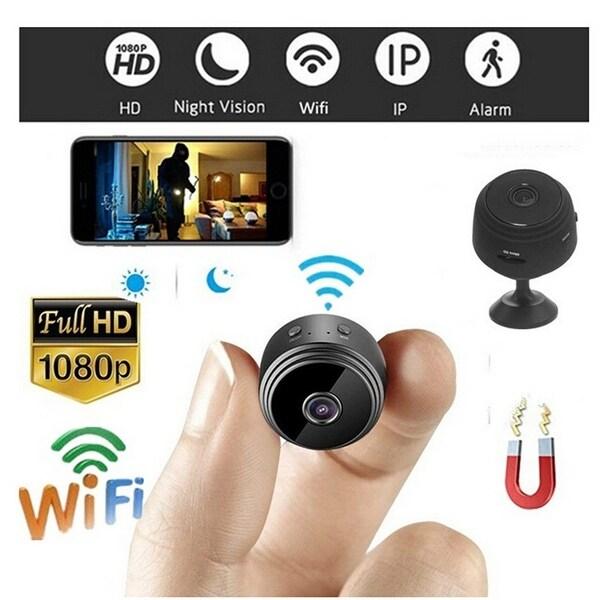 HD Mini SPY Camera Micro Surveilance Hidden Security Cam IR Night Vision Audio C