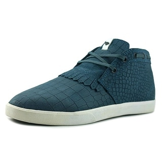 Diamond Supply Co Jasper Men  Round Toe Leather Blue Sneakers