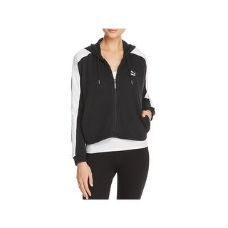Puma Womens Heart T7 Athletic Jacket Fitness & Yoga Workout