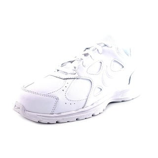 Nike Advantage Runner 2 L G/P Youth Round Toe Leather White Running Shoe