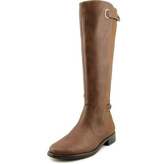 Aerosoles One Wish Round Toe Leather Knee High Boot