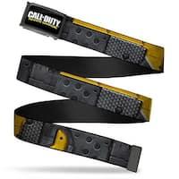Call Of Duty Infinite Warfare Fcg Black White Yellow  Chrome Call Of Web Belt