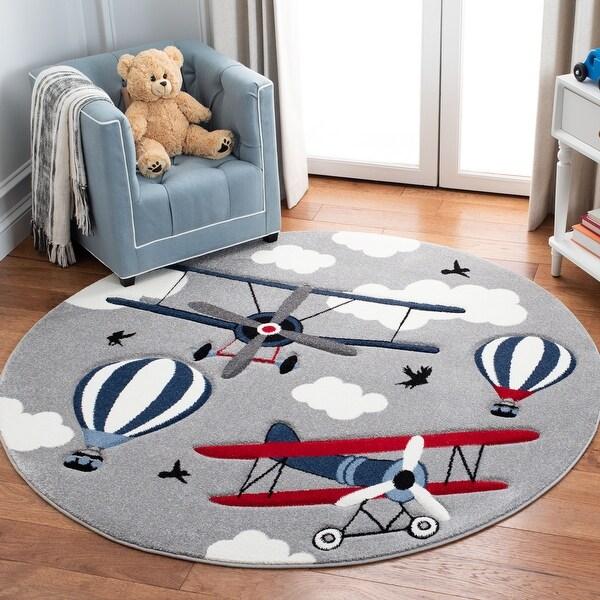 Safavieh Carousel Kids Turi Airplane Rug. Opens flyout.
