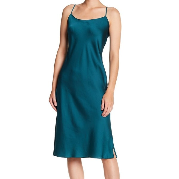6c0f4fca72 Shop Natori NEW Green Teal Women s Size Large L Feathers Satin Chemise - Free  Shipping On Orders Over  45 - Overstock - 20851810
