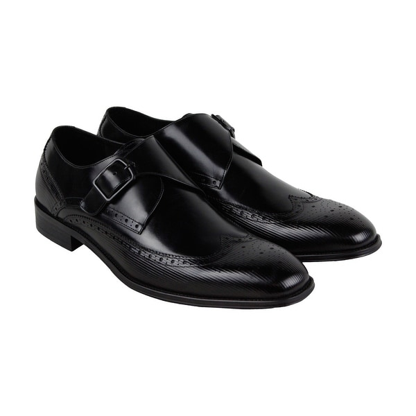Kenneth Cole New York Design 10384 Mens Black Casual Dress Oxfords Shoes