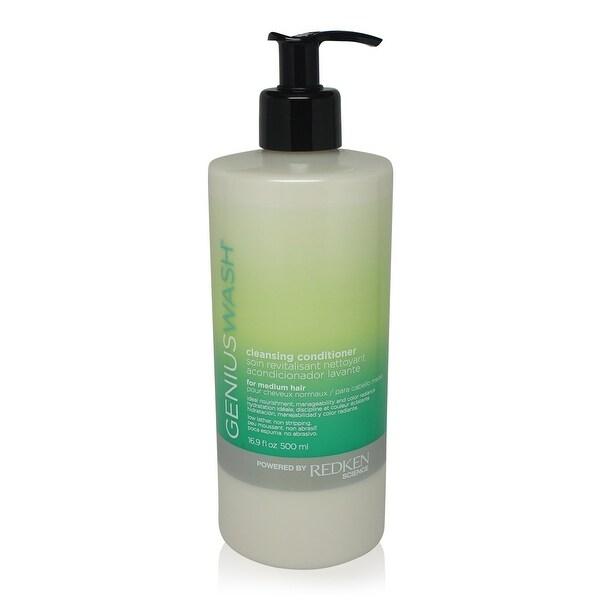 Redken Genius Wash Cleansing Conditioner for Medium Hair 16.9 fl Oz
