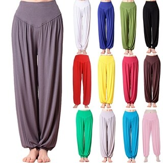 Women Harem Trousers Ali Baba Long Baggy Hareem Leggings Loose Plus Size Pants