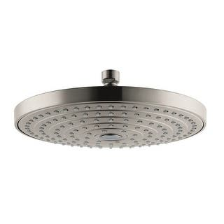 hansgrohe rain shower head. Hansgrohe 04720 Raindance Select S 1 8 GPM Multi Function Shower Head with  AirPo Heads For Less Overstock com
