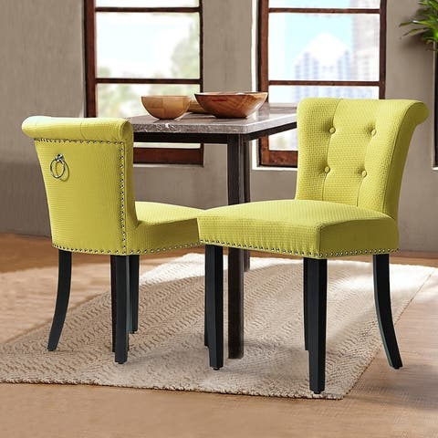 Berta Tufted Upholstered Side Chair,set of 2