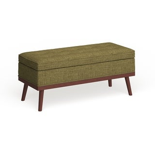 Link to Carson Carrington Sastamala Mid-century Storage Bench Similar Items in Living Room Furniture