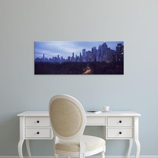 Easy Art Prints Panoramic Images's 'Central Park New York NY' Premium Canvas Art