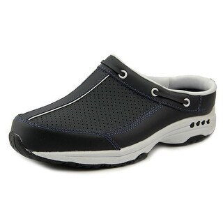 Easy Spirit Triproute W Round Toe Leather Clogs