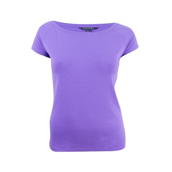66d0bfd5 Shop Lauren Ralph Lauren Women's Boat Neck Casual Top (XL, Lilac) - Lilac -  XL - On Sale - Free Shipping On Orders Over $45 - Overstock - 23621320