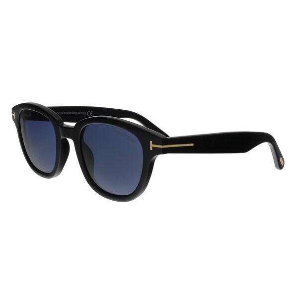 cc85916869d04 Shop Tom Ford FT0538 01V Garett Black Square Sunglasses - No Size ...