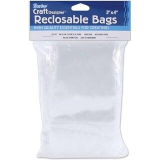 """Reclosable Bags 100/Pkg-3""""X4"""" Clear"""