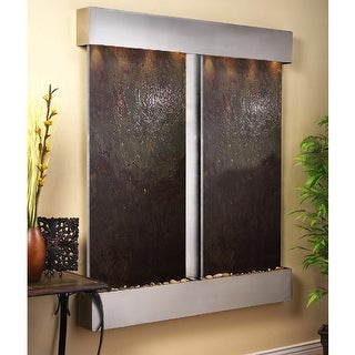 Cottonwood Falls Fountain - Stainless Steel - Squared Edges - Choose Options