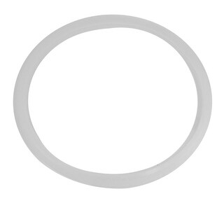 "Unique Bargains Pressure Cooker Repair Part 12.6"" Inside Dia Sealing Ring Gasket White"