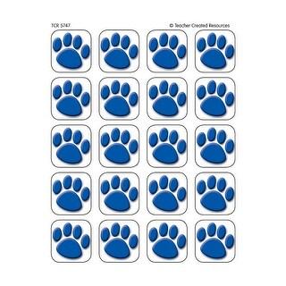 Blue Paw Prints Stickers 120 Stks
