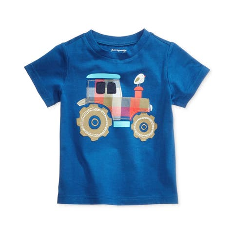 First Impressions Boys Truck Graphic T-Shirt - 9 mos