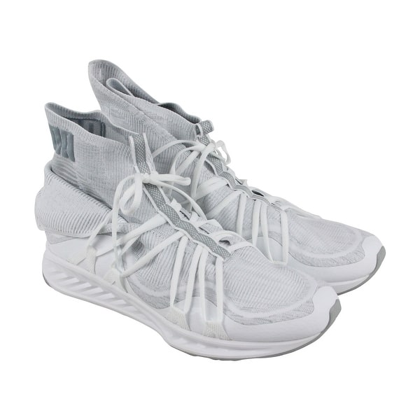 13c51fbd3 Shop Puma Ignite Evoknit Fold Mens White Textile Athletic Lace Up Training  Shoes - Free Shipping On Orders Over $45 - Overstock - 21729279