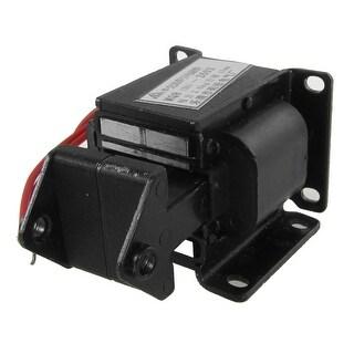 Black 2kg 15mm AC 380V Tractive Type Solenoid Electromagnet