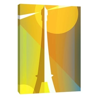 "PTM Images 9-105732  PTM Canvas Collection 10"" x 8"" - ""Paris Vert"" Giclee Art Print on Canvas"
