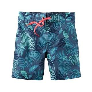 Carter's Baby Boys' Tropical Swim Trunks, 18 Months
