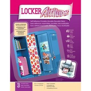 """Craft Attitude 8.5""""X11"""" 3/Pkg-Locker"""